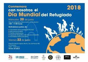 Conmemora con nosotros el Día Mundial del Refugiado