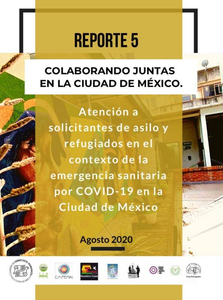 Reporte 5 - Agosto 2020